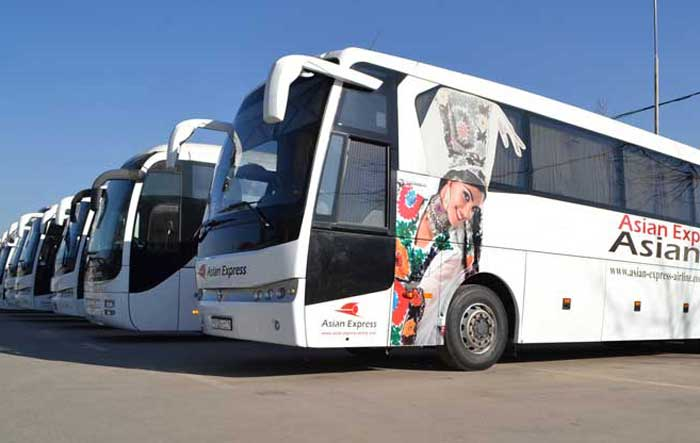 Bus Flights Starts between Uzbekistan and Tajikistan