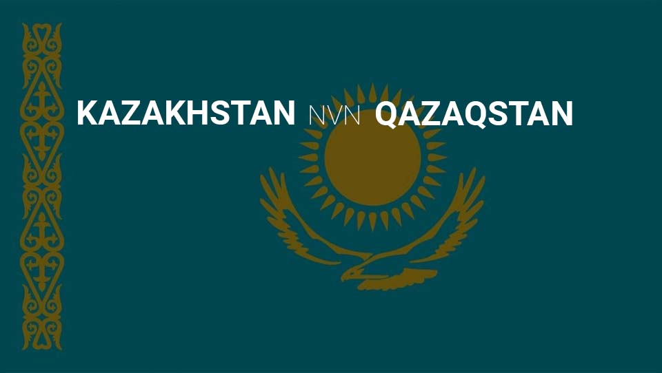 Kazakhstan Changing Alphabet to Latin Alphabet