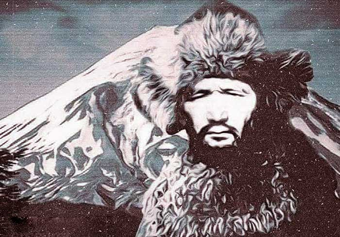 Legendary Leader of East Turkestan Independence Movement Osman Batur