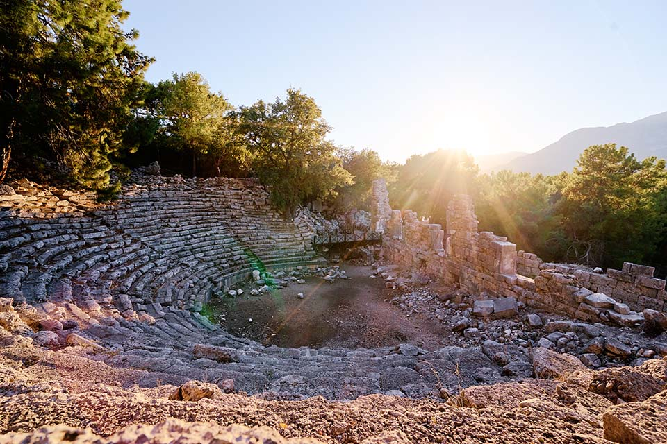 Fragrance Land of Ancient Age: PHASELIS