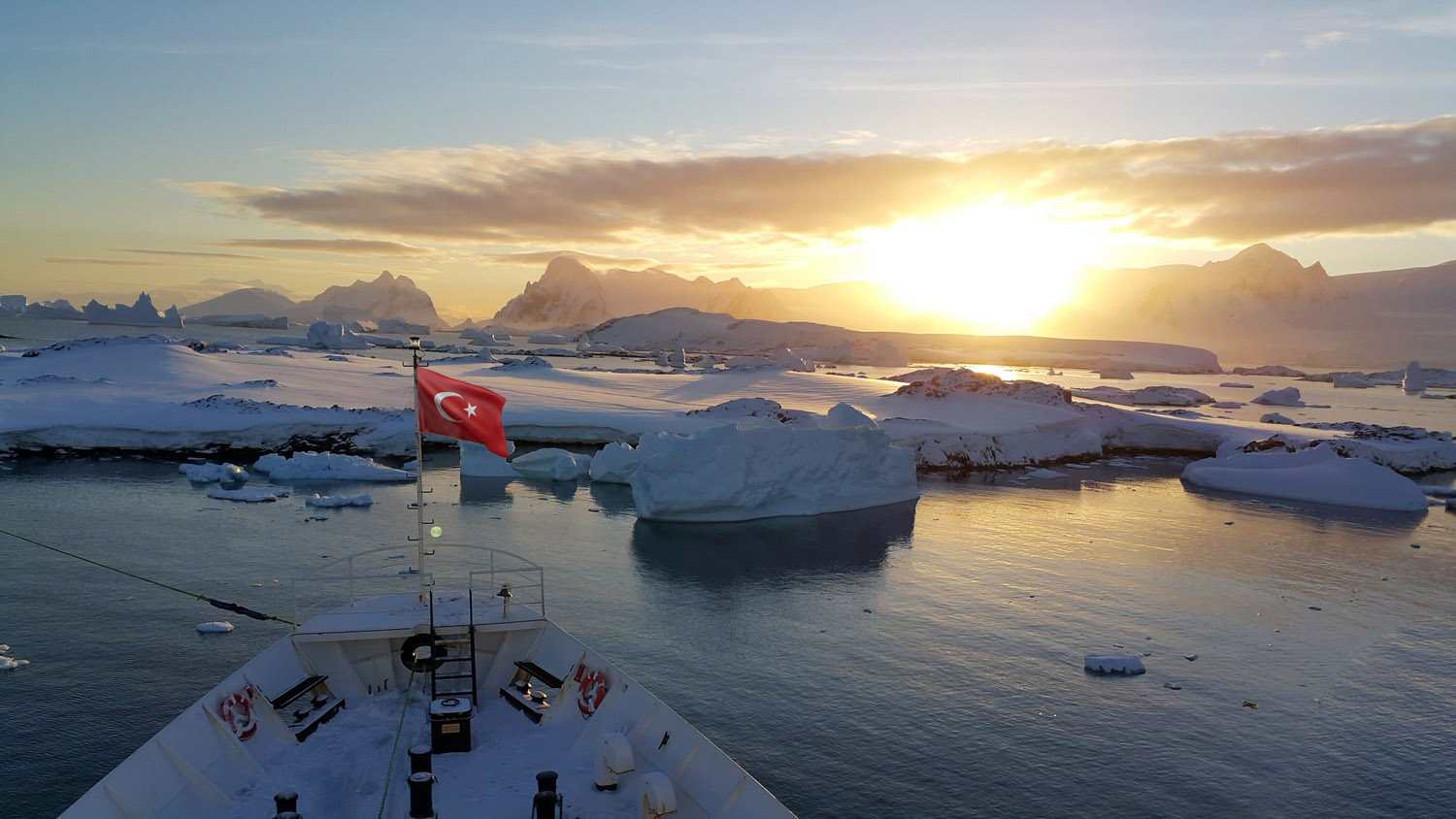 Turk Scientific Base will be laid in Antarctica in 2019