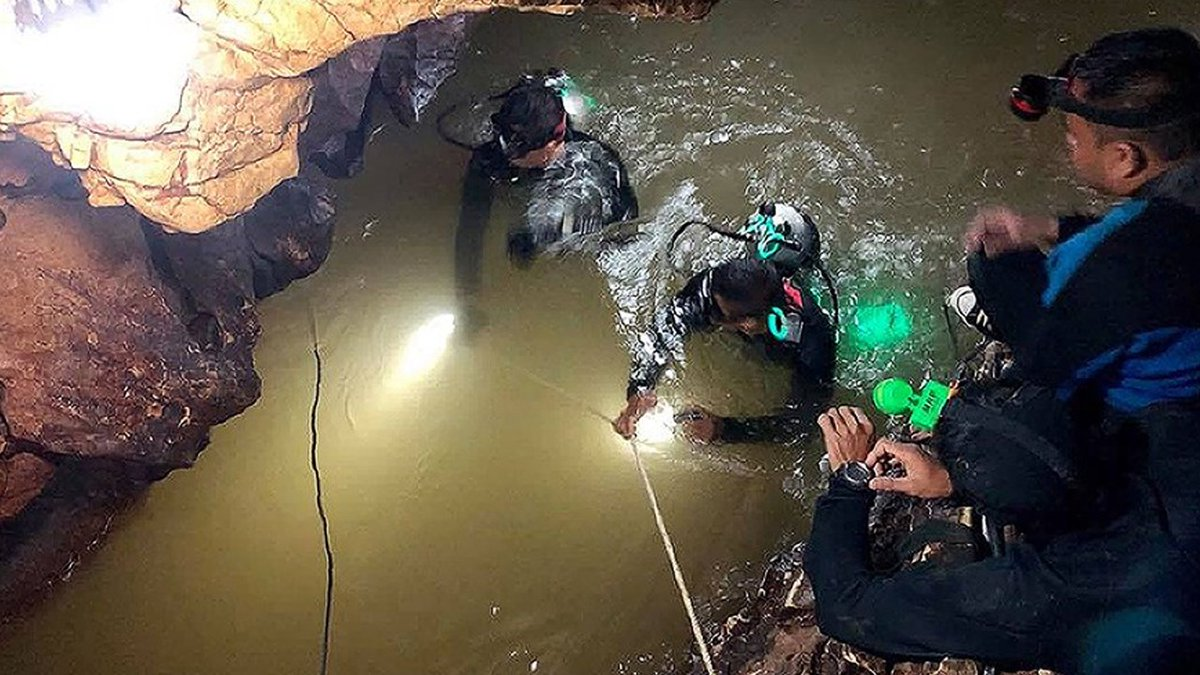 Eight young boys trapped in Thailand cave were rescued