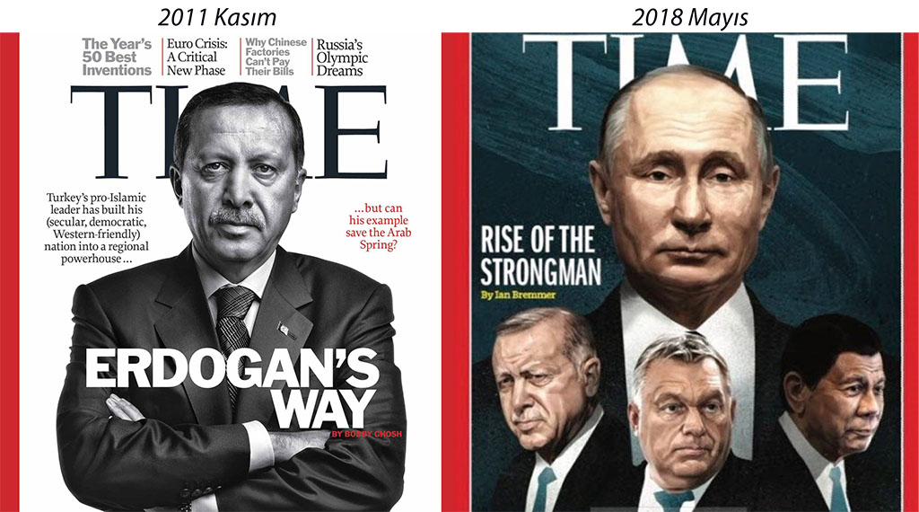 President Erdoğan on TIME magazine for the second time