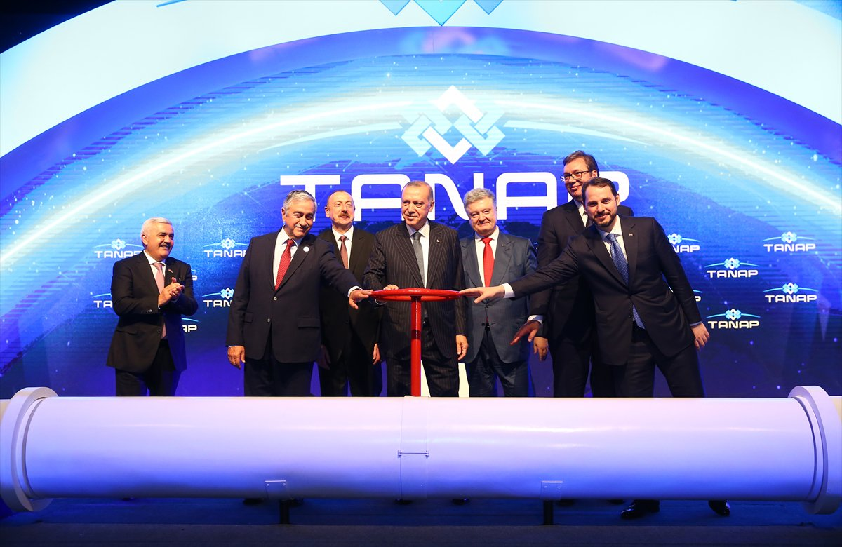 Opening of the Trans-Anatolian Natural Gas Pipeline (TANAP) was held