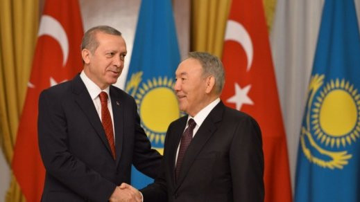 Nazarbayev congratulated Erdogan on his election success