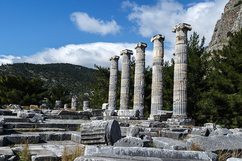 """Priene Ancient City"" has been accepted into the UNESCO Temporary List of World Heritage"