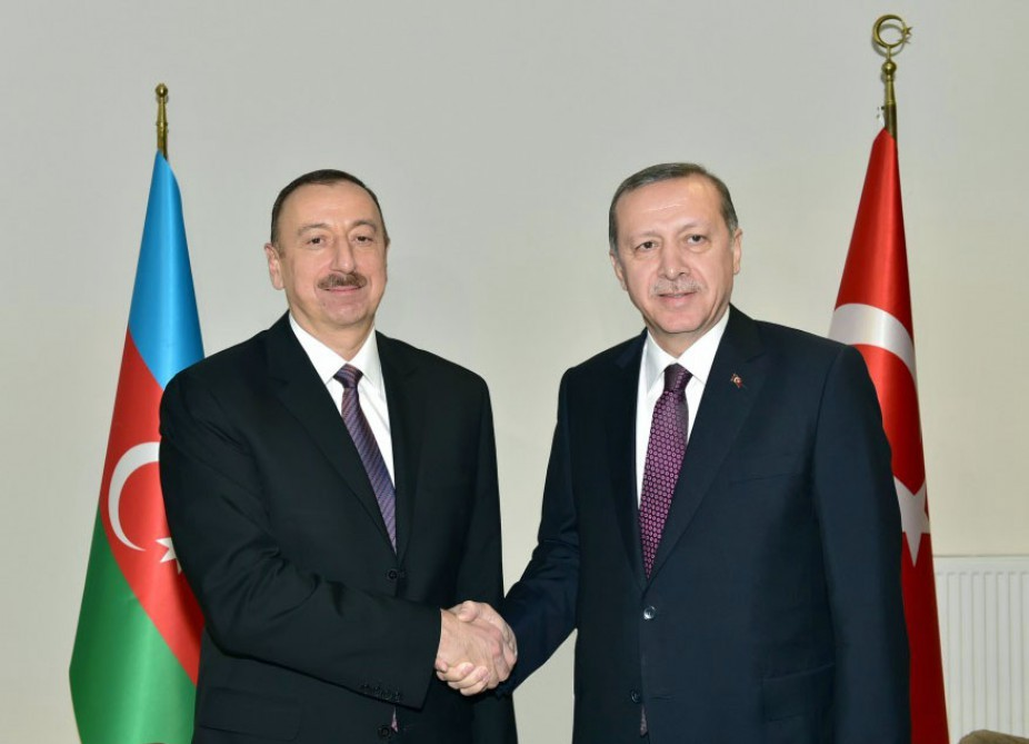 Azerbaijani President congratulated Recep Tayyip Erdogan on victory at presidential election