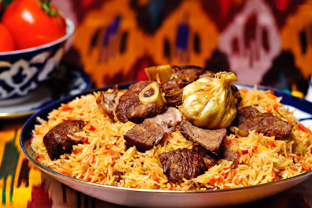 Uzbek Plov; A Traditional and Delicious Food from the Central Asian Cuisine