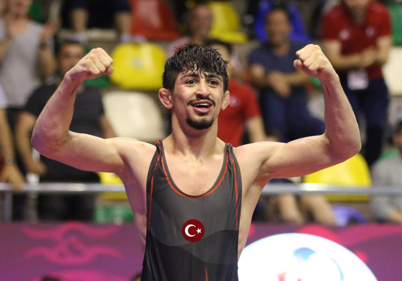 Young wrestlers of U-23 European Championships